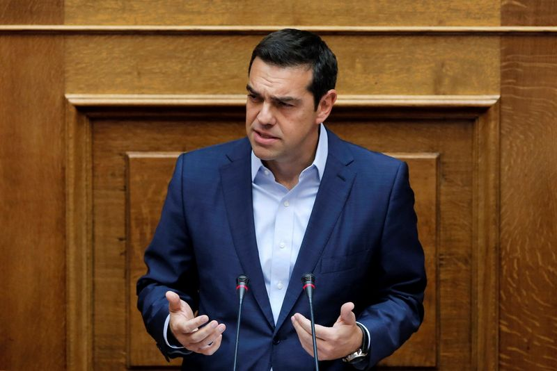 "Alexis Tsipras, Graikijos ministras pirmininkas. Costo Balto (""Reuters"" / ""Scanpix"") nuotr."