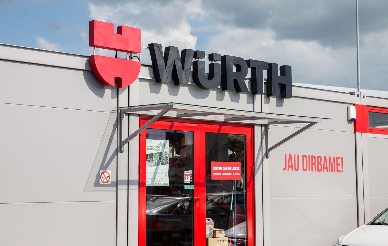 """Pasaulinis koncernas """"Wurth"""" nusižiūrėjo lietuvišką įmonę"""