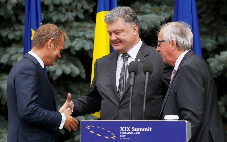 Europa žada ieškoti milijardinės paramos Ukrainai