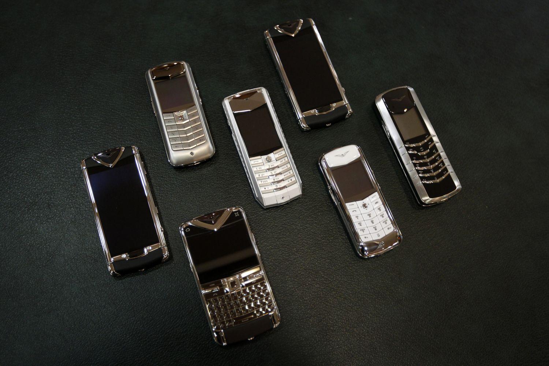 """Prabangių """"Vertu"""" telefonų gamintojai – bankrotas"""