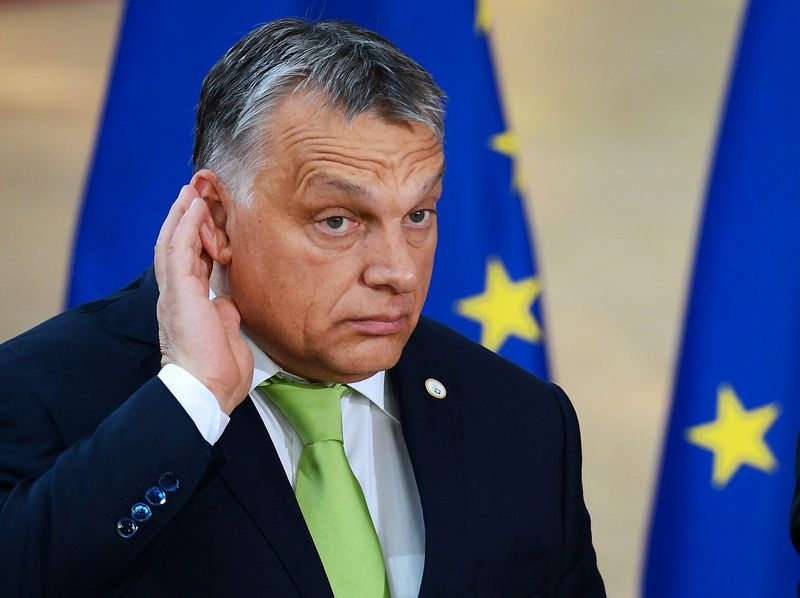 "Viktoras Orbanas, Vengrijos ministras pirmininkas. Aleksejaus Vitvitskio (""Sputnik"" / ""Scanpix"") nuotr."