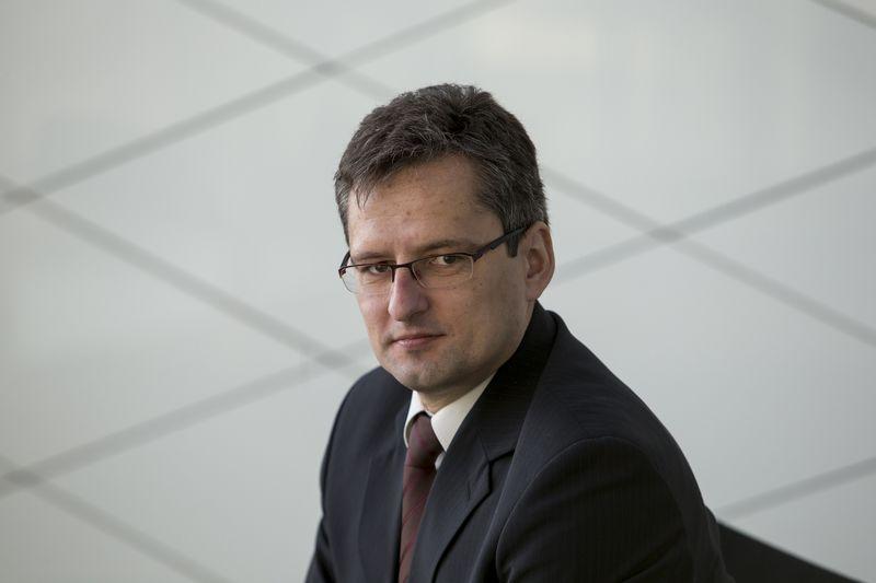 """Vaidas Paukštys, AB """"Swedbank"""" investavimo vadovas. Vladimiro Ivanovo (VŽ) nuotr."""