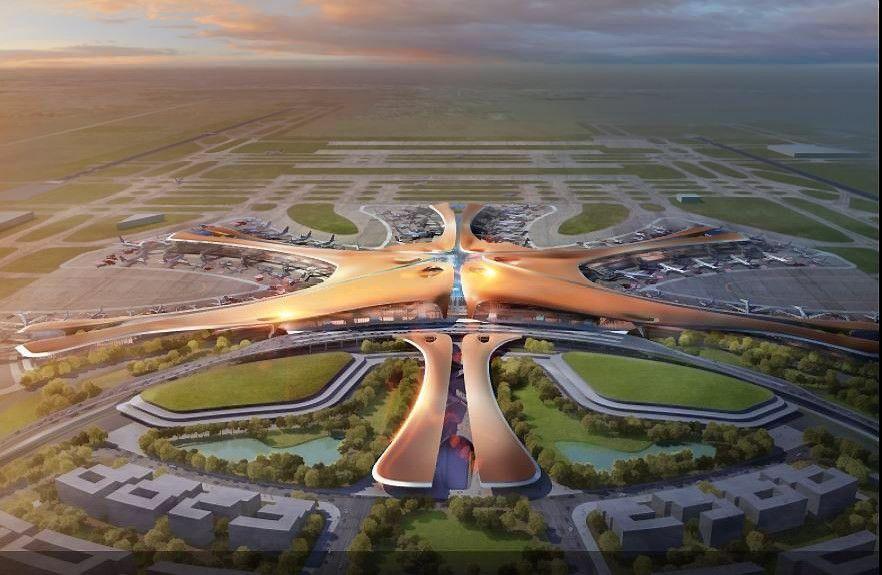 Po poros metų kinai turės didžiausią pasaulio oro uostą
