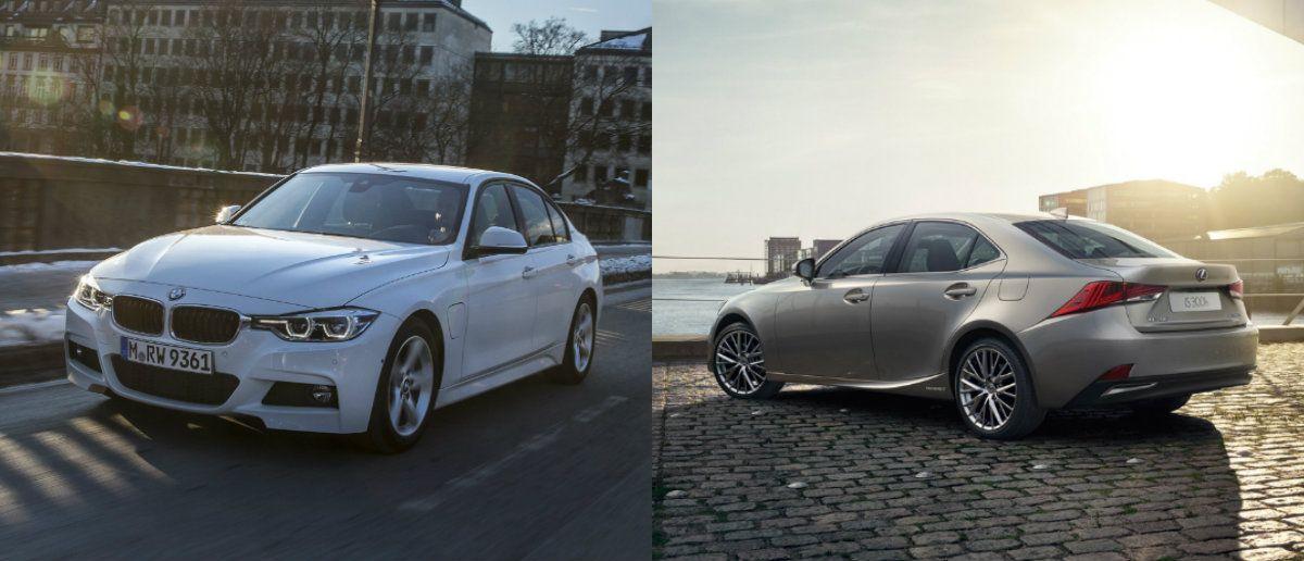 """VŽ bando hibridus: """"BMW 330e"""" prieš """"Lexus IS 300h"""""""