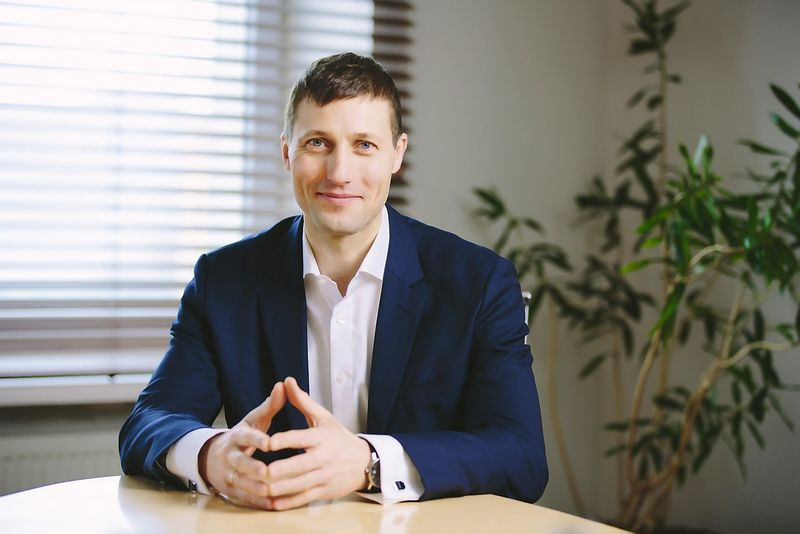 """Lauris Bossas, """"Balcia Insurance SE"""" valdybos pirmininkas, neslepia, kad grįždami į Lietuvos rinką per kelerius metus tikisi tapti vienais iš lyderių. Bendrovės nuotr."""