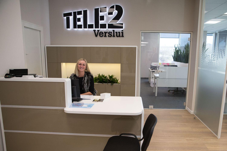 """""""Tele2"""" Lietuvoje pajamos antrą ketvirtį augo 19%"""