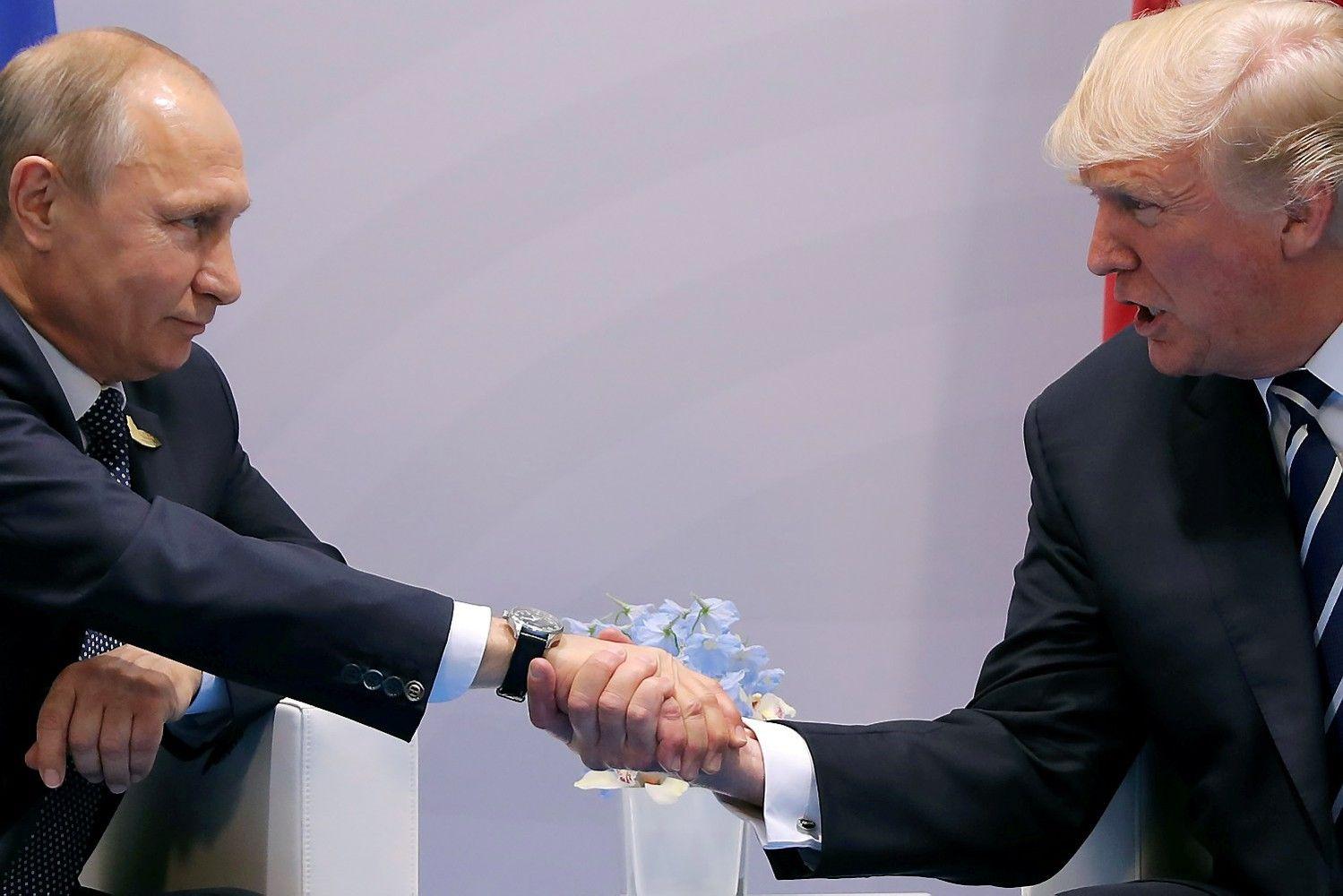 Trumpasir Putinas buvo susitikę antrą kartą