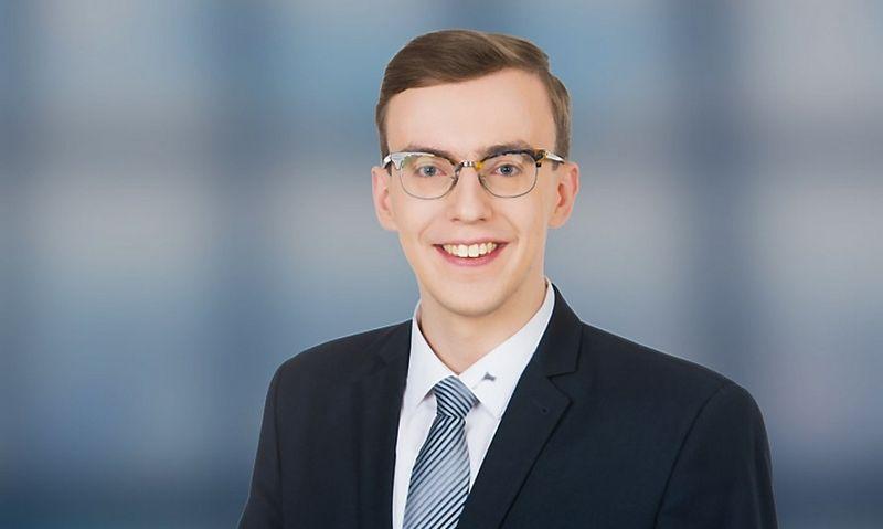 """Advokatų proefesinės bendrijos """"iLAW"""" teisininkas, Valentinas Knyva."""