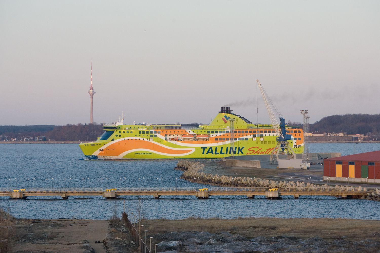 """""""Tallink"""" žinia biržoje sukėlė ažiotažą"""