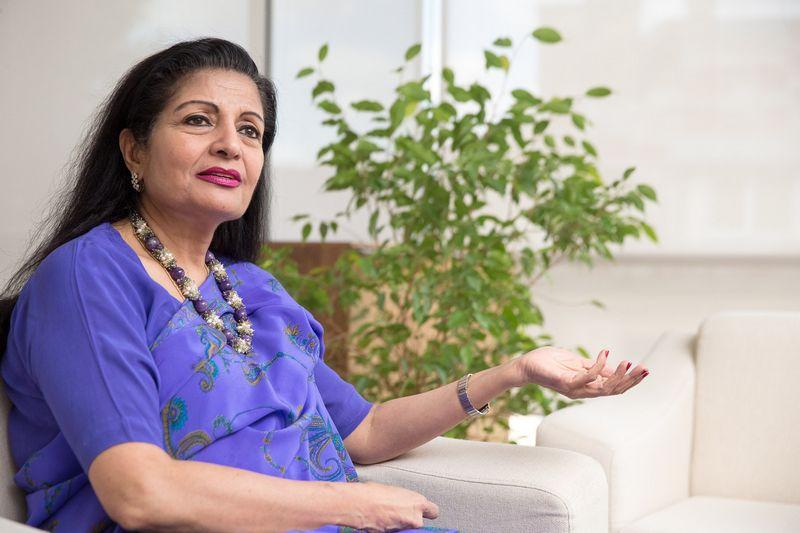 Lakshmi Puri, Jungtinių Tautų Lyčių lygybės ir moterų įgalinimo padalinio vykdomojo direktoriaus pavaduotoja. Vladimiro Ivanovo (VŽ) nuotr.