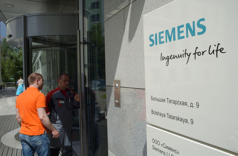 """""""Siemens"""" stabdo įrangos Rusijos valstybinėms kompanijoms tiekimą"""