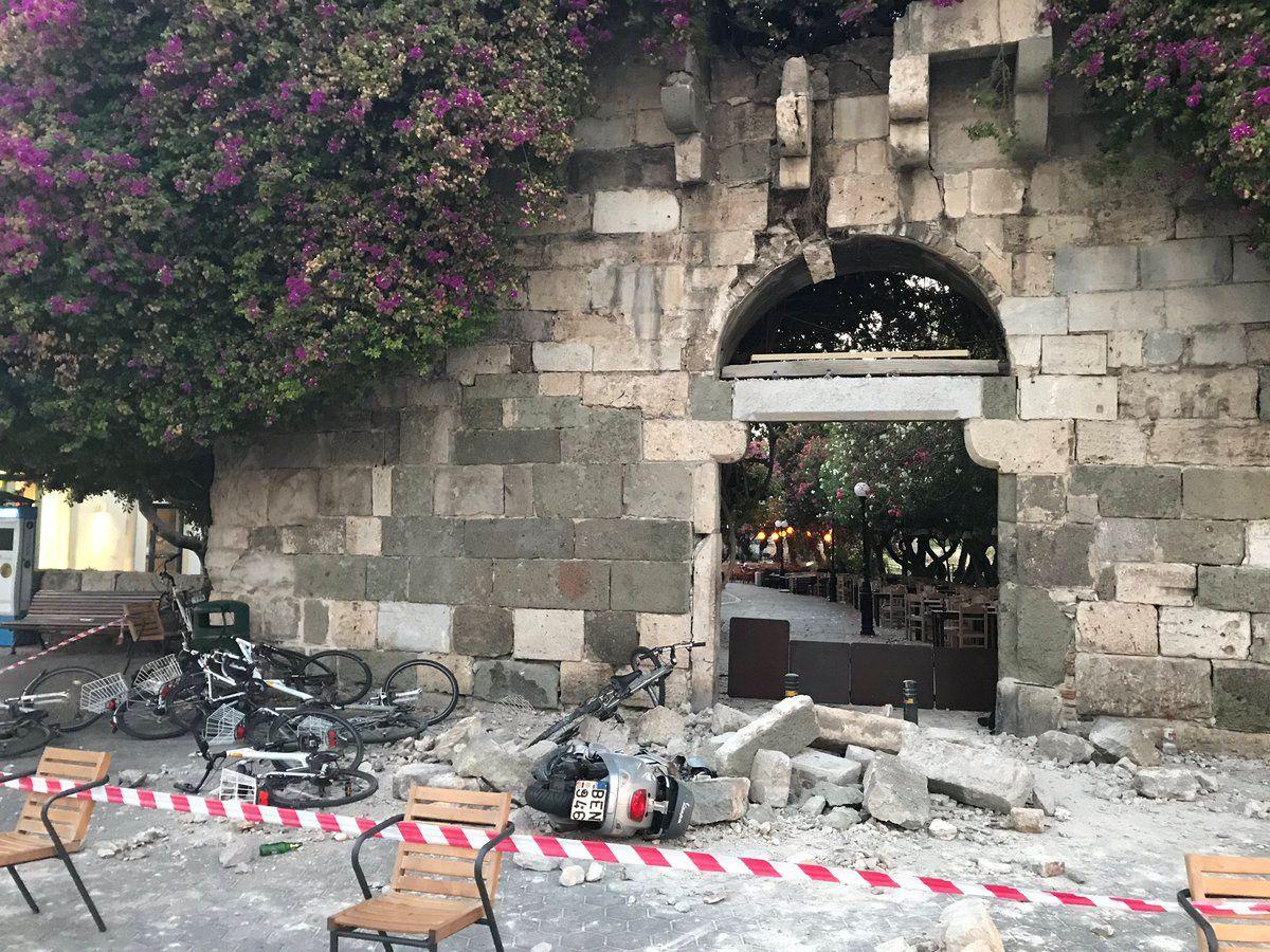 Graikiją ir Turkiją supurtė žemės drebėjimas