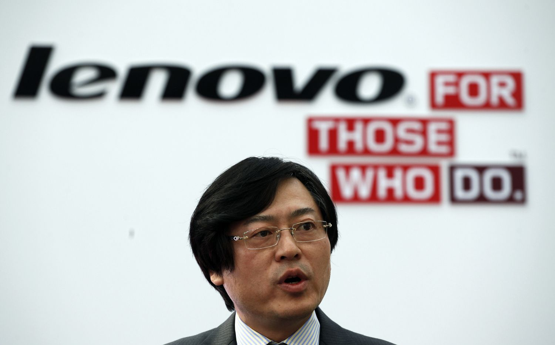 """""""Lenovo"""" vadovas: pasieksiu metinius pardavimų tikslus arba pasitrauksiu"""