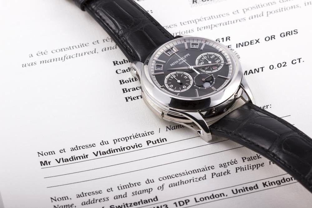 """""""Vladimiro Putino"""" laikrodis parduotas už milijoną"""