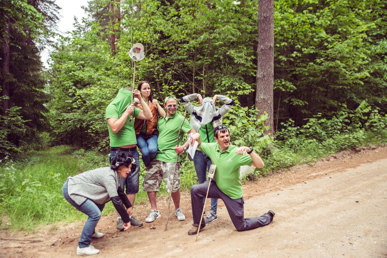 """""""Mūsų vasaros šventė"""": """"Ecoservice"""" darbuotojai leidosi į foto medžioklę"""