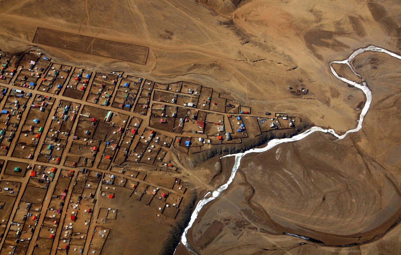 Iliustruotoji istorija: pusę metų pėsčiomis per Mongoliją