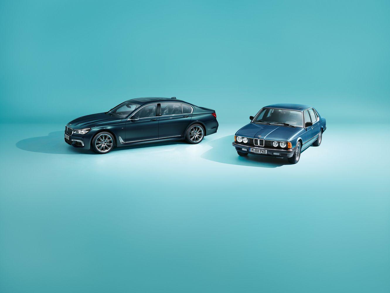 7 serijosjubiliejų BMW pažymės išskirtiniu modeliu