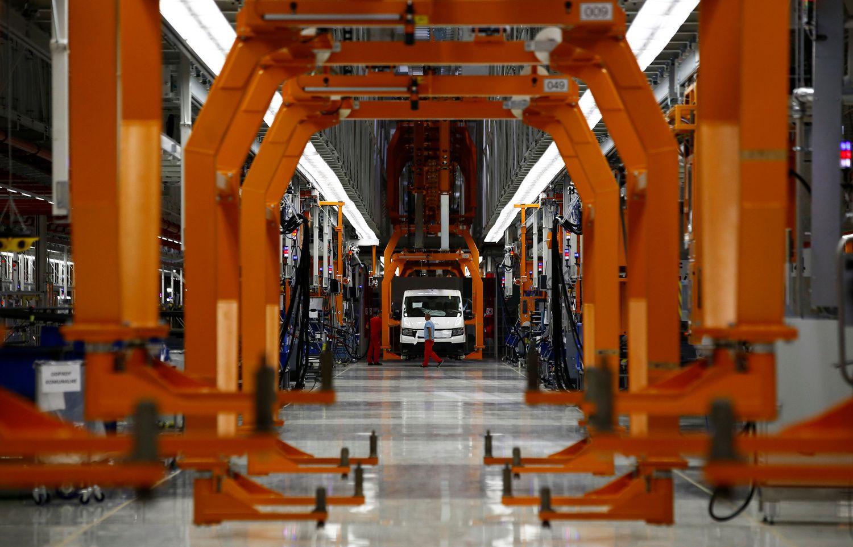 Vokietijos verslo lūkesčiai – aukštumose