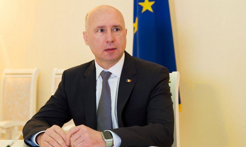 """Moldovos vyriausybės reformą inicijavo premjeras Pavelas Filipas. """"Reuters"""" nuotr."""