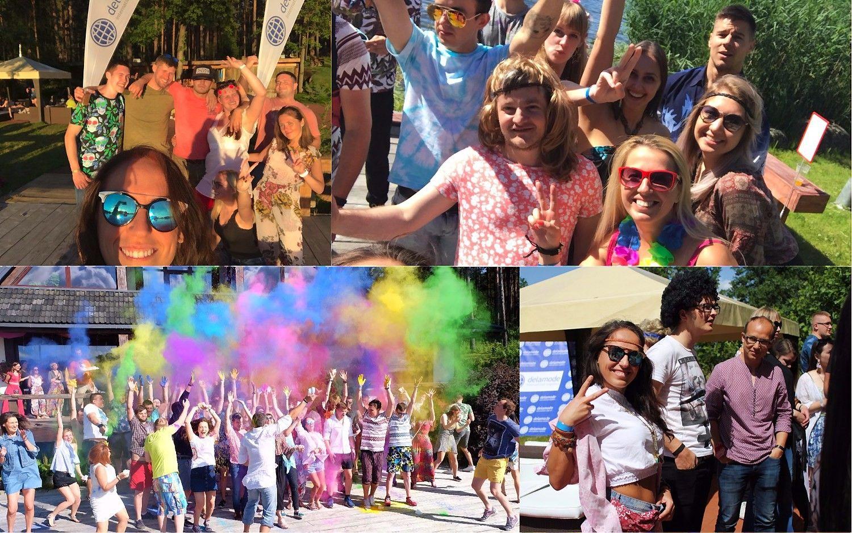 """""""Mūsų vasaros šventė"""": """"Delamode Baltics"""" spalvingi hipiai"""