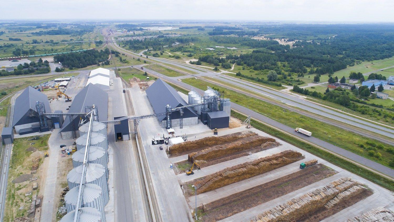 """""""Scandagra"""" grūdų eksportui – nauji pajėgumai Malkų įlankos terminale"""