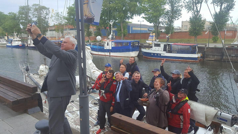 """Klaipėdoje sutinkami """"The Tall Ships Races 2017"""" burlaiviai"""