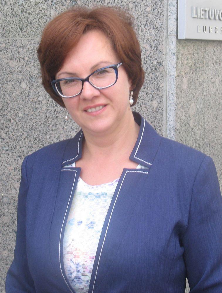 VMI vadove paskirta Edita Janušienė