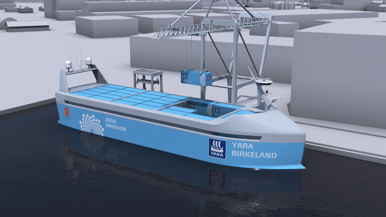 Autonominis laivas už 25 mln. USD išplauks 2018 m.