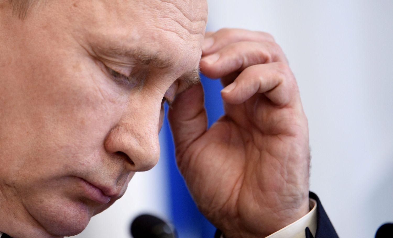 Putinas pagrasino keršyti JAV už sankcijas