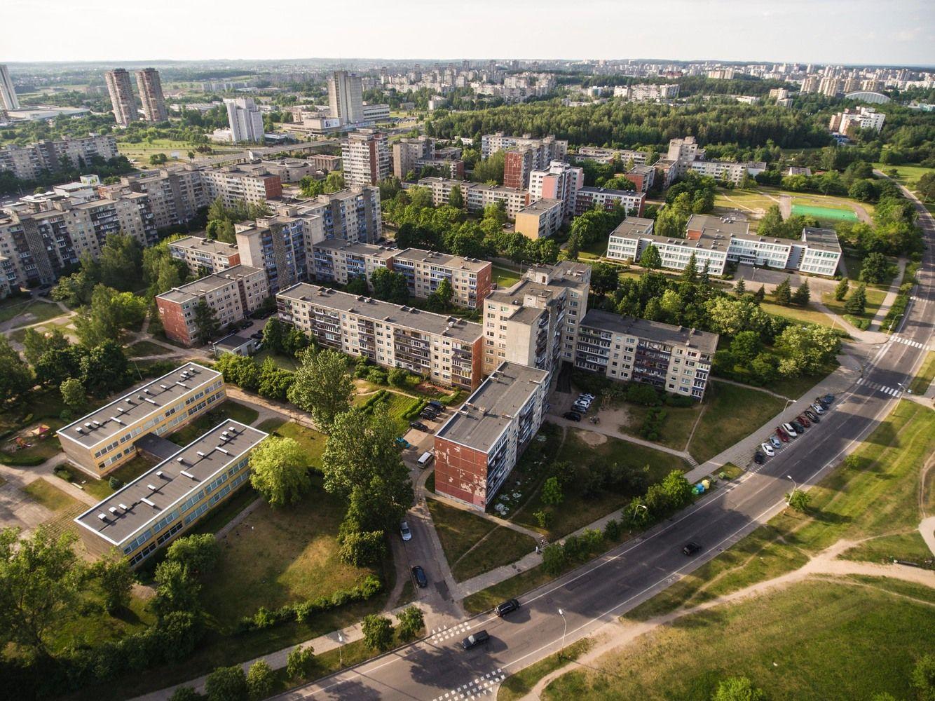 Vilniuje – apie 100 mln. Eur senų daugiabučių kiemų atnaujinimui