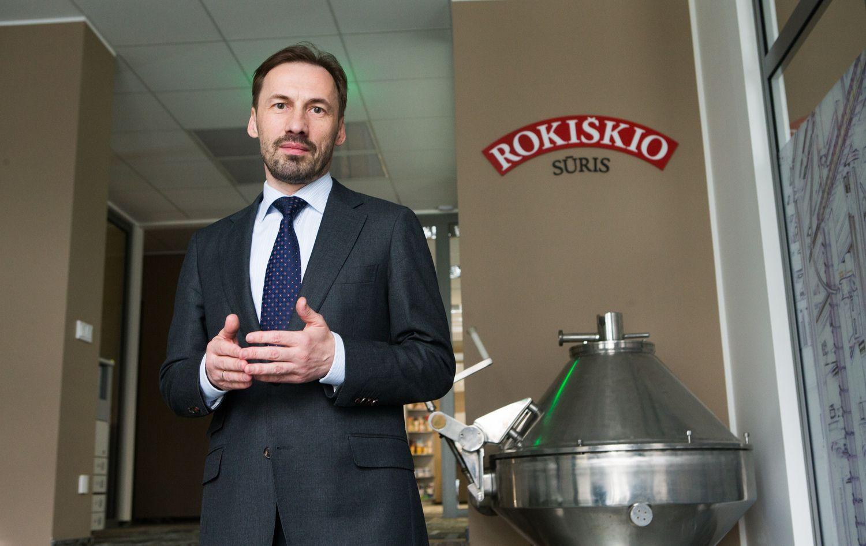 """""""Rokiškio sūrio"""" nuostolius per metus pakeitė pelnas"""