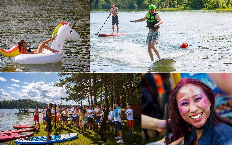 """""""Mūsų vasaros šventė"""": festivalio nuotaikos su """"NFQ Technologies"""""""