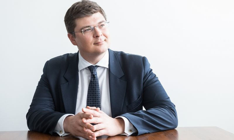 """Ignas Dargužas tapo penktuoju """"Jurex"""" partneriu. Juditos Grigelytės (VŽ) nuotr."""