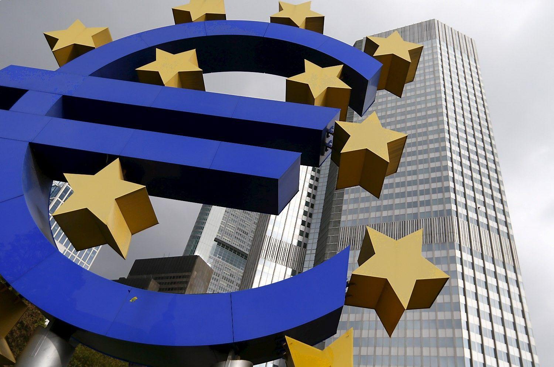 Euro zonos ekonomika antrąjį ketvirtį augo užtikrintu tempu