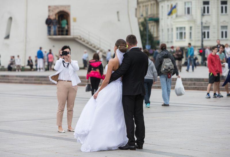 Iš viso per pirmąjį šių metų pusmetį Lietuvoje buvo įregistruotos 8.324 santuokos ir 4.579 ištuokos Juditos Grigelytės (VŽ) nuotr.