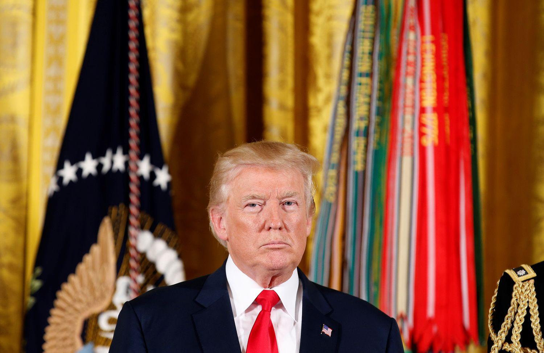 Donaldas Trumpas patvirtino sankcijas Rusijai