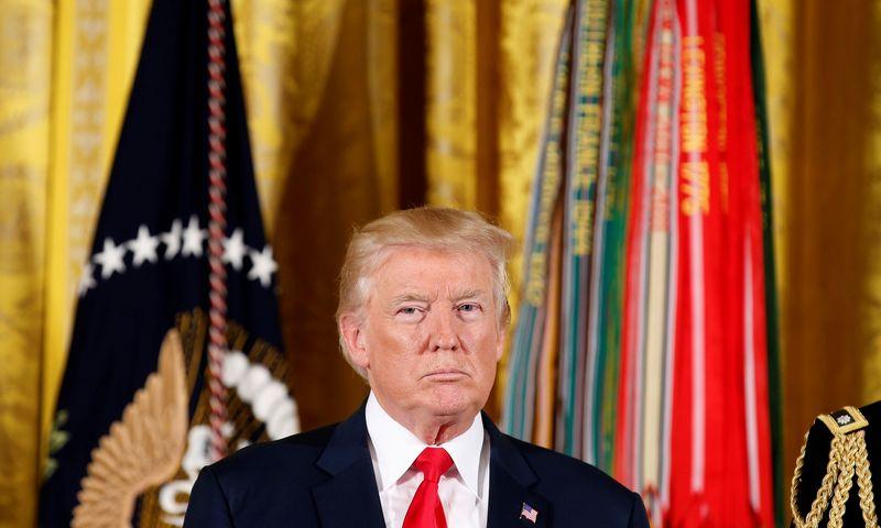 "Donaldas Trumpas, JAV prezidentas. Joshua Robertso (""Reuters"" / ""Scanpix"") nuotr."