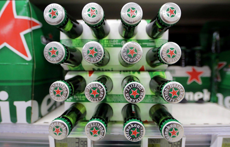 """Atsigaunanti Europos rinka padėjo """"Heineken"""" sparčiai augti"""