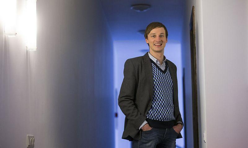 """Vytautas Zabulis, UAB """"Bendras finansavimas"""", valdančios paskolų platformą """"Savy"""", direktorius. Vladimiro Ivanovo (VŽ) nuotr."""