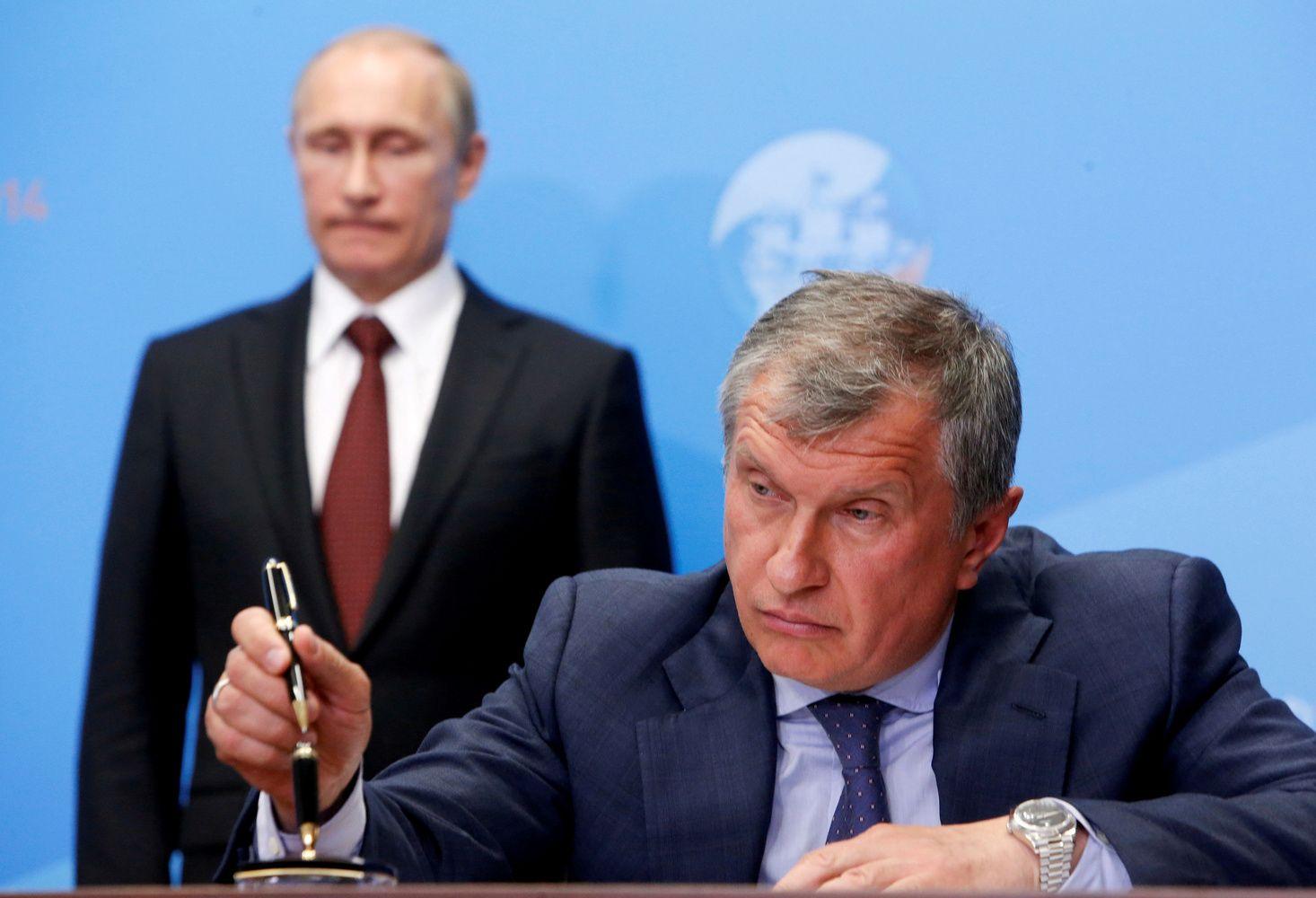 Sečinas: atrodo, kad sankcijas pritaikė Trumpui, o ne Rusijai
