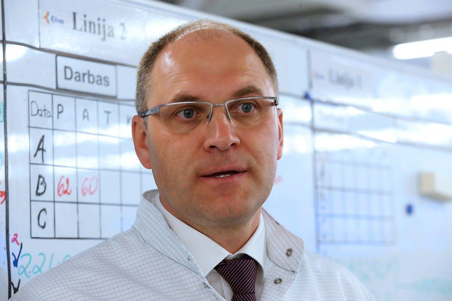 """""""Kitron"""" vadovas M. Šeštokas: kai klaidos kaina didelė"""