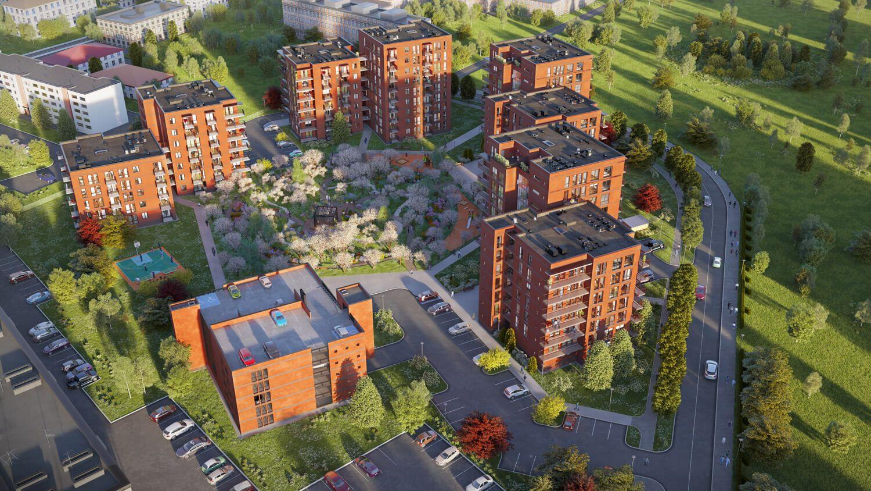Į nuomojamų butų statybas Estijoje investavo pensijų fondai