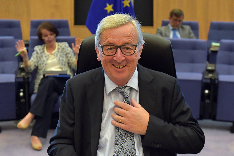 Junckerio planas sugeneravo 225 mlrd. Eur investicijų