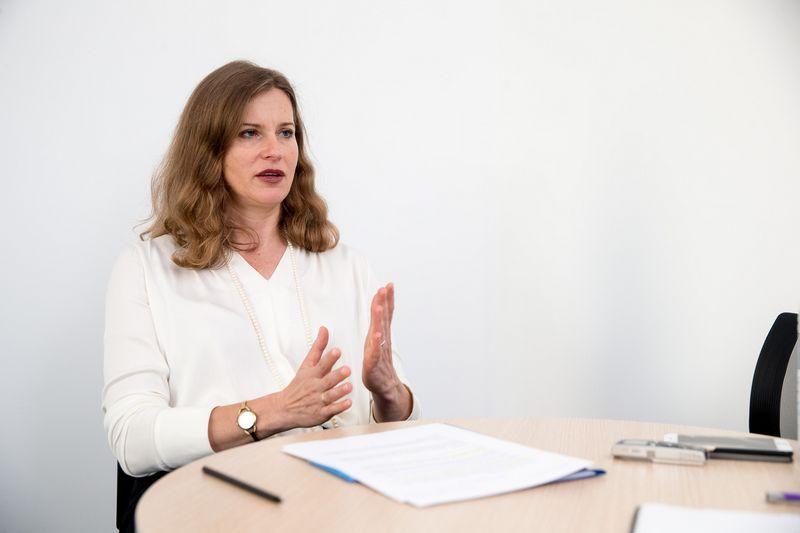 """Daina Kleponė, VšĮ """"Versli Lietuva"""" generalinė direktorė. Vladimiro Ivanovo (VŽ) nuotr."""