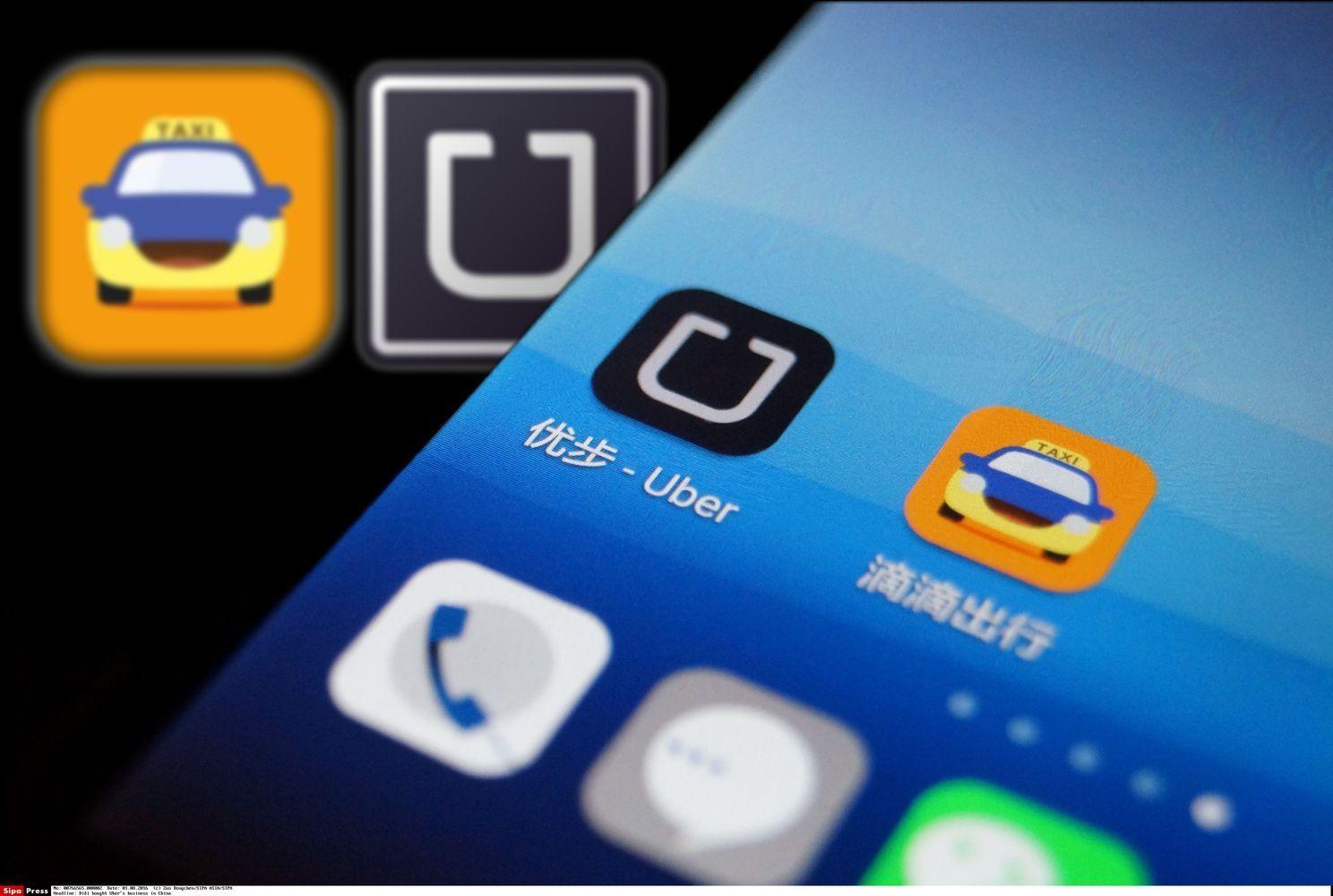 """Kinų """"Didi"""" toliau investuoja į """"Uber"""" konkurentes"""