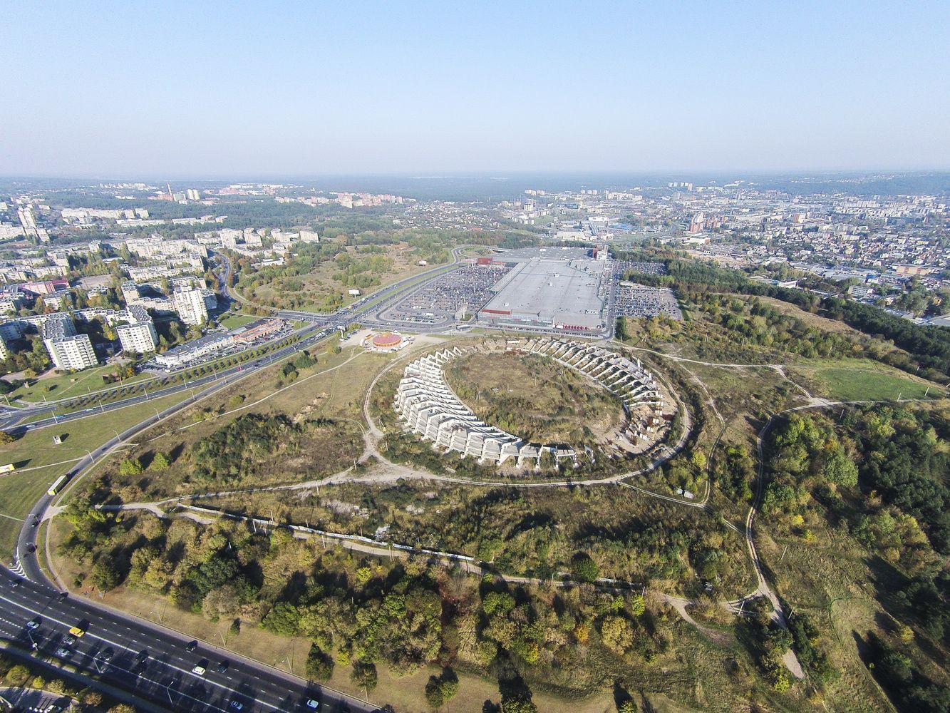 Nacionalinis stadionas: vienas konkurso dalyvis jau nori trauktis