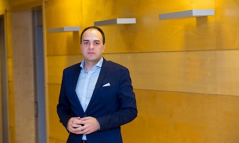 """Dr. Lukas Macijauskas, """"Synergy Finance"""" Fondų valdytojas. Vladimiro Ivanovo (VŽ) nuotr."""