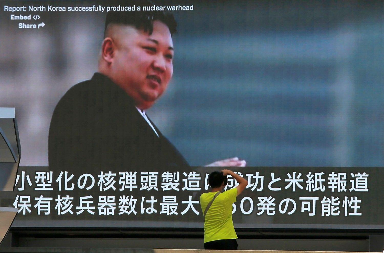 Karinga retorika nemalšina Šiaurės Korėjos pavojaus