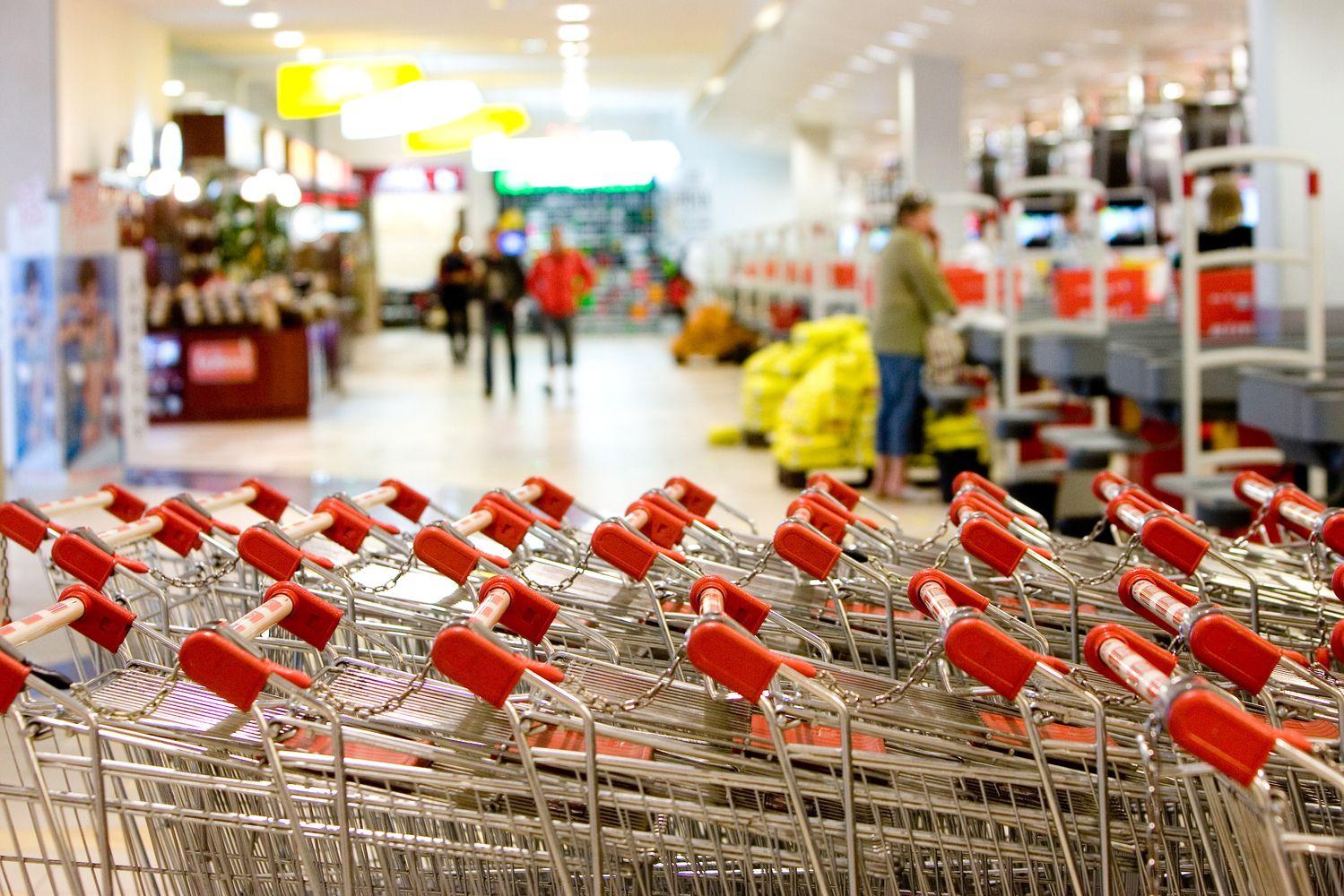 """""""Nielsen"""": maisto parduotuvių mažėja, bet auga jų plotas"""