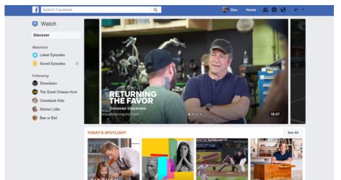 """Dar vienas """"Facebook"""" žingsnis auginant vaizdo peržiūras"""